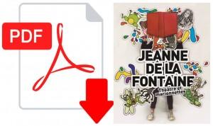 logo pdf télécharger dossier JEANNE de la FONTAINE