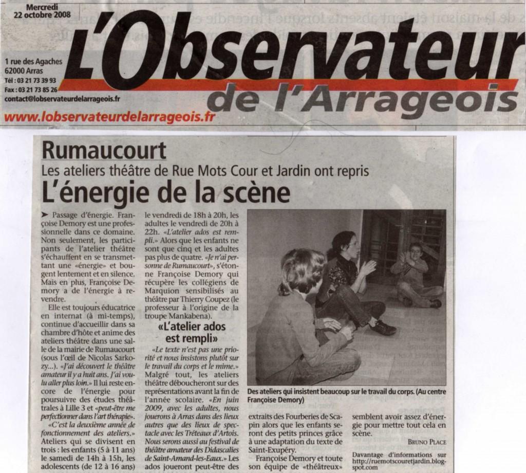 article presse RMCJ007